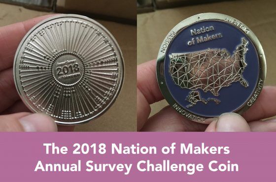 2018 Survey Challenge Coins